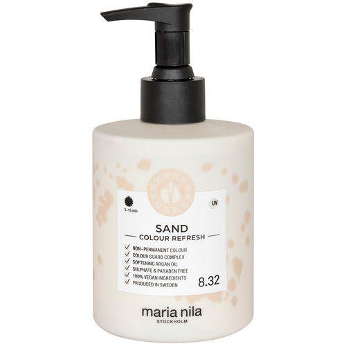 Maria Nila Colour Refresh Sand 8.32 maska s barevnými pigmenty 300 ml Kliknutím zobrazíte detail obrázku.