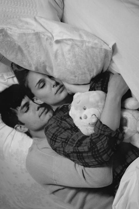 Ashton Kutcher and Natalie Portman.