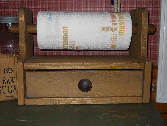 Farmhouse primitive Kitchen Paper Towel by PorchSittinPrimitive, $34.99