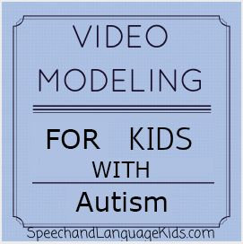 What is Video Modeling? Video modeling is a fun instructional technique where the child watches a video of himself or herself doing a desired behavior or skill. For example, let's say Johnny always throws a fit on the way from the bus to his classroom