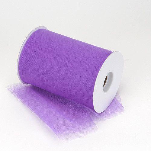 Purple Premium Tulle 100 Yards ( W: 6 inch | L: 100 Yards )