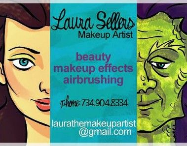 Famous Makeup Artist Business Cards 8937   mamiskincare.net