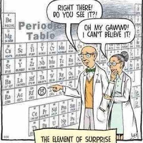 Humor is....elemental