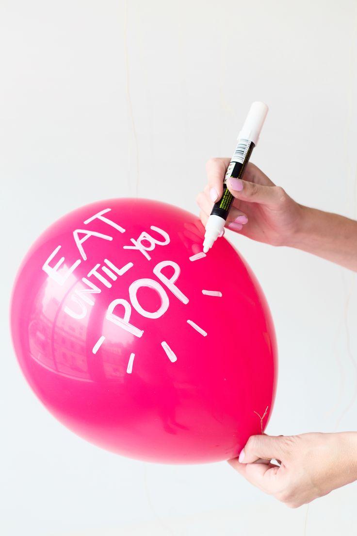 How to make #Thanksgiving Pun #Balloons