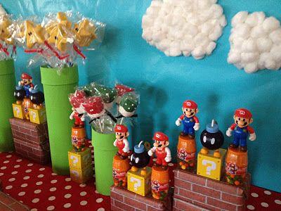 Αποτέλεσμα εικόνας για Mario-themed Nintendo party