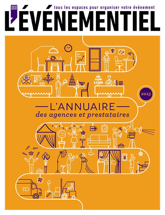 L'annuaire des Agences & Prestataires 2015 à commander sur :  http://www.evenementiel-boutique.fr/lannuaire-des-lieux-des-agences-et-des-prestataires-2015-xml-352_359-852.html