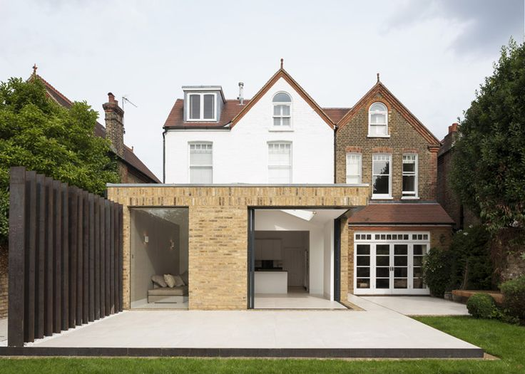 Interesting Home Extension in London Featuring Brick Walls and Sliding Glass Doors - http://www.interiordesign2014.com/interior-design-ideas/interesting-home-extension-in-london-featuring-brick-walls-and-sliding-glass-doors/