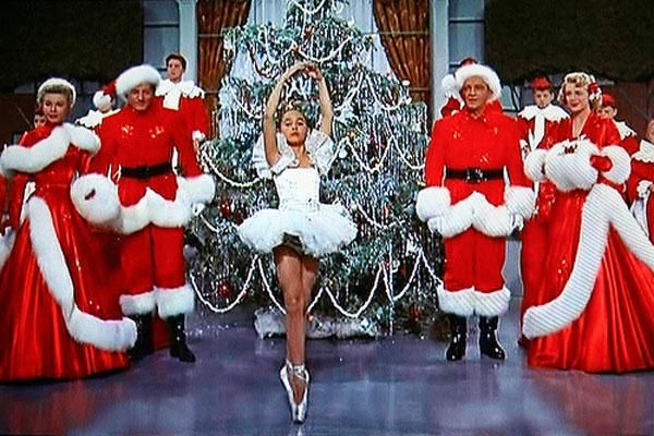 White Christmas (1954)  Who doesn't dream of a white Christmas? We certainly do! This 1954 list-topper comes complete with an all-star cast, song, dance, romance, friendship and a ton of Christmas cheer!