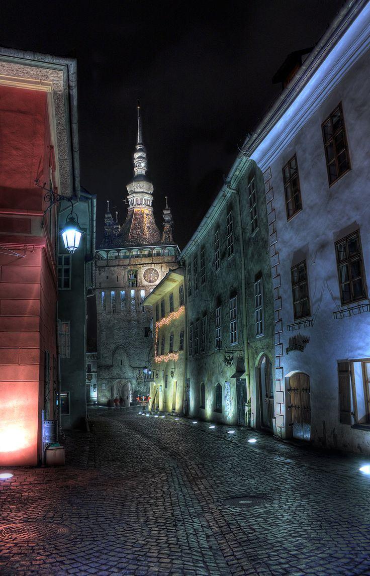 Clock Tower, Sighisoara by mariustipa.deviantart.com on @deviantART