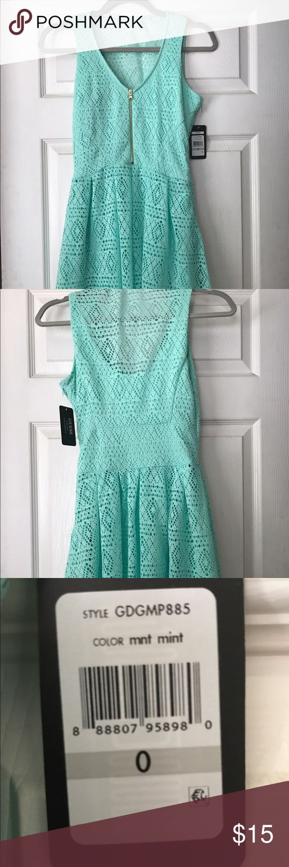 Guess dress new with tags Beautiful green guess dress new with tags size 0 Guess Dresses