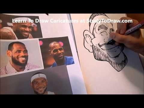 caricature tutorial for beginners pdf