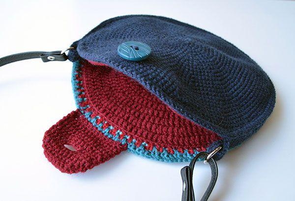Kaleidoscope Mandala Bag crochet by Lilla Bjorn Crochet