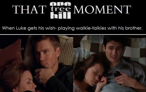 THAT #OTH MOMENT Walkie Talkies