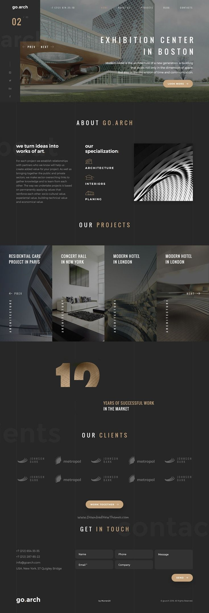 Best 25+ Corporate website ideas on Pinterest | Clean web design ...