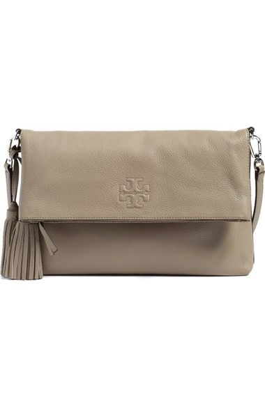Tory Burch 'Thea' Leather Foldover Crossbody Bag available at #Nordstrom