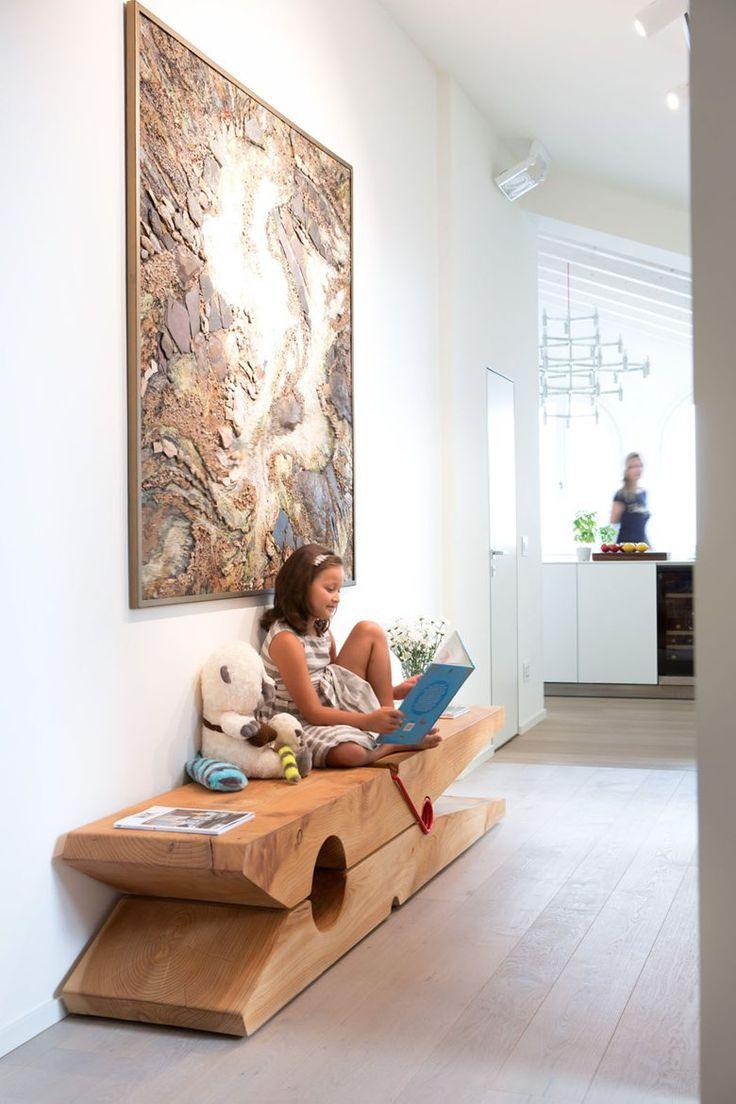 Huge solid wood clothespeg, bench, houten wasknijper groot, bank