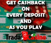 TradaCasino has launched a new bonus structure. A new player can receive a cash back bonus of up to  £1,000 in bonuses. Games online bonus deposit slots bonuses     #casino_bonuses #casino_bonus #casino_bonus_codes    https://tradacasino.com/uk/promotions/