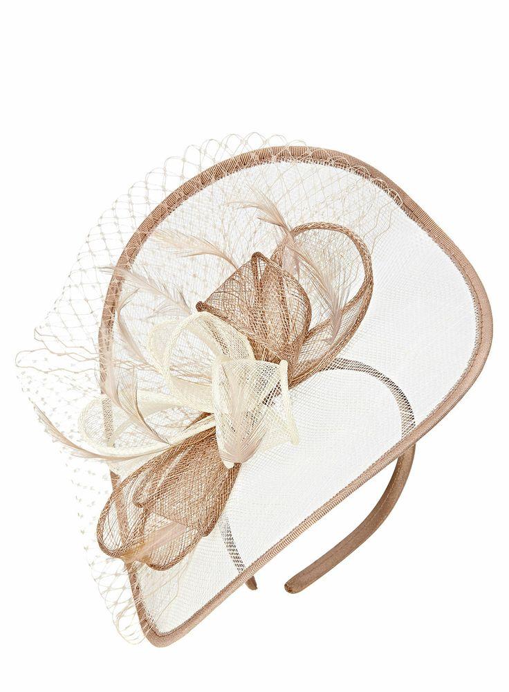 Cream Multi Folded Bow Disc Fascinator http://www.weddingheart.co.uk/bhs--mother-of-the-bride.html