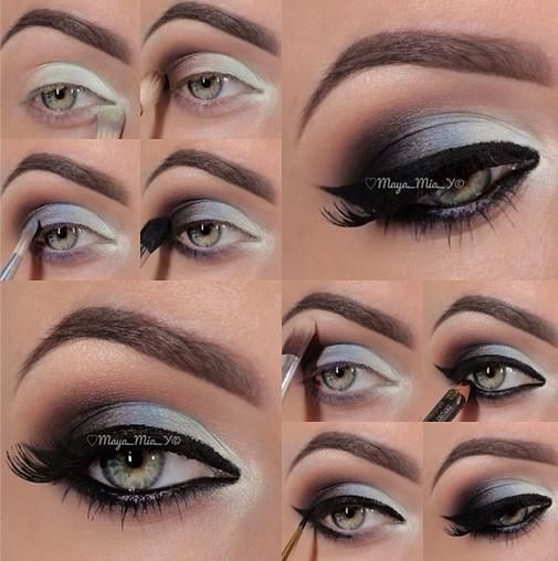 If you are blessed to have blue eyes, then you should definitely try the following step-by-step makeup ideas for blue eyes.
