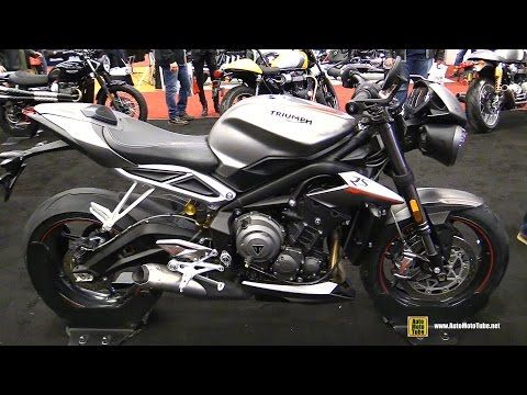 2017 Triumph Street Triple RS 675 - Walkaround - 2017 Montreal Motorcycle Show - YouTube