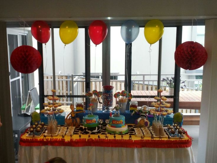 Toy Story themed Lolly Buffet