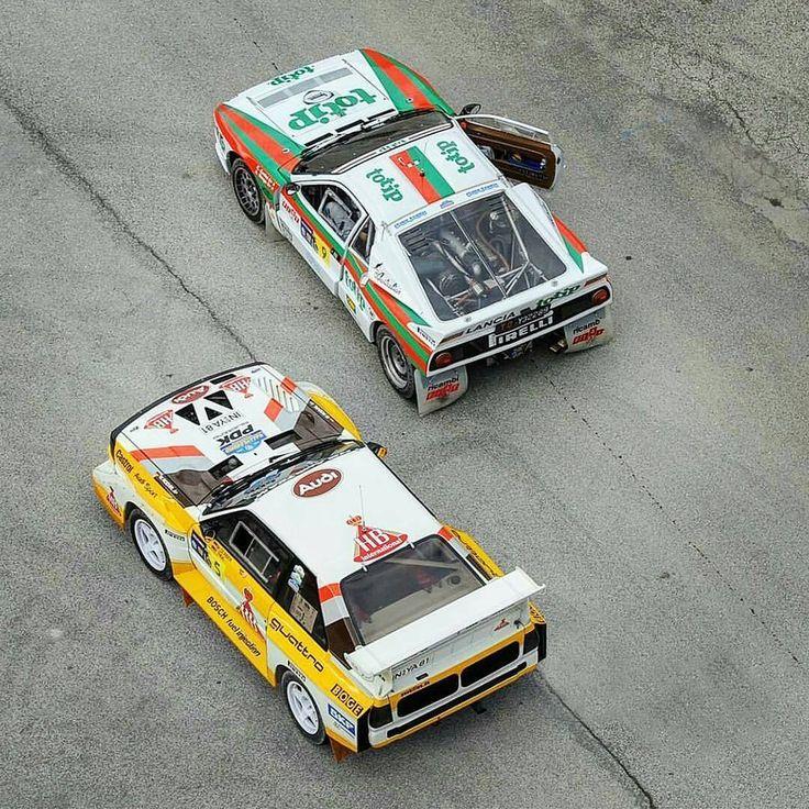 Audi Quattro or The Lancia 037? #lancia #037 #audiquattro