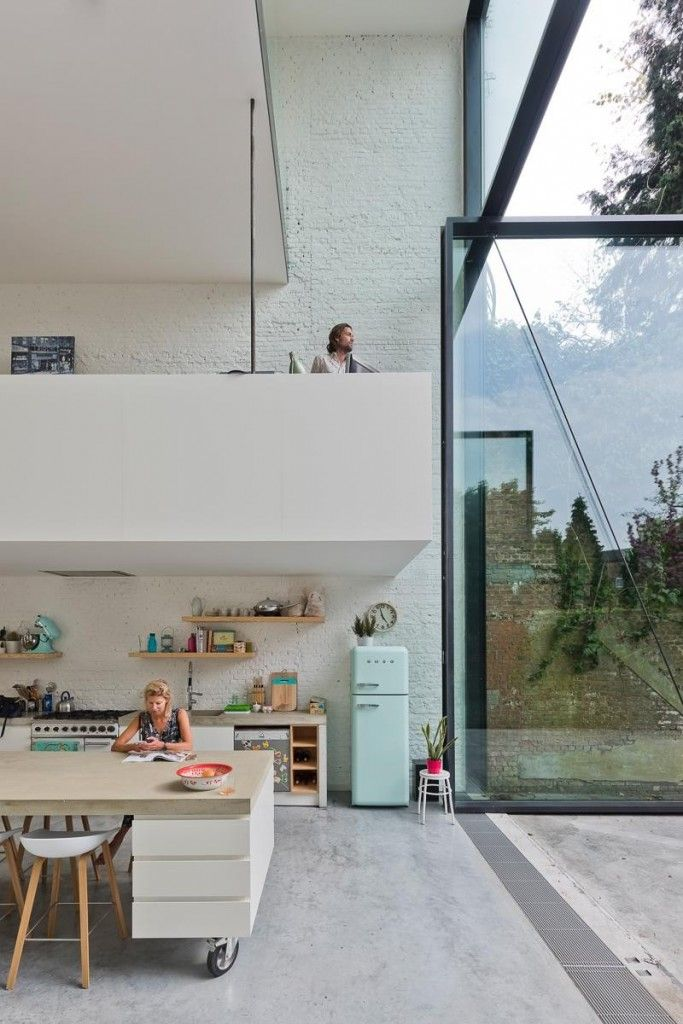 // LALO Renovation and interior rijwoning by Sculp IT. Photo: Luc Roymans