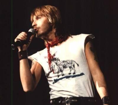 Renaud, premier concert à 6 ans, puis tous les autres jusqu'à sa disparition - 1986, 1988, 1989, 1995, 2003, 2007