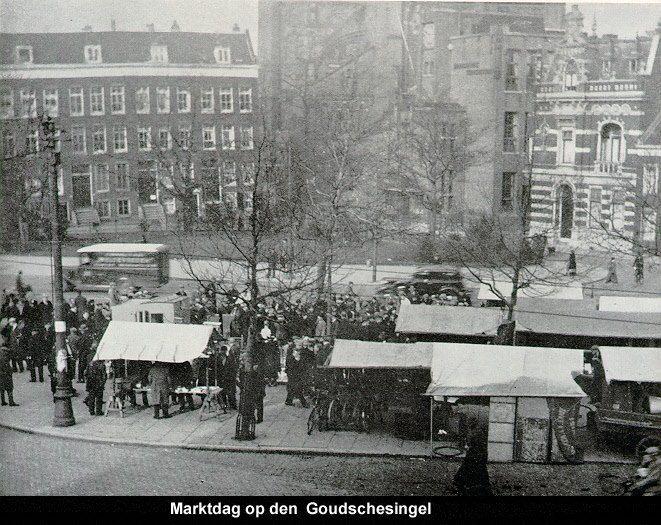 Rotterdam   Goudsesingel  De geschiedenis van de Goudsesingel gaat terug tot ongeveer 1360 toen