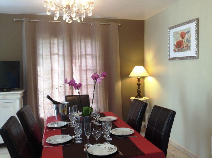 L'espace repas Le Clos du Hêtre, dining room