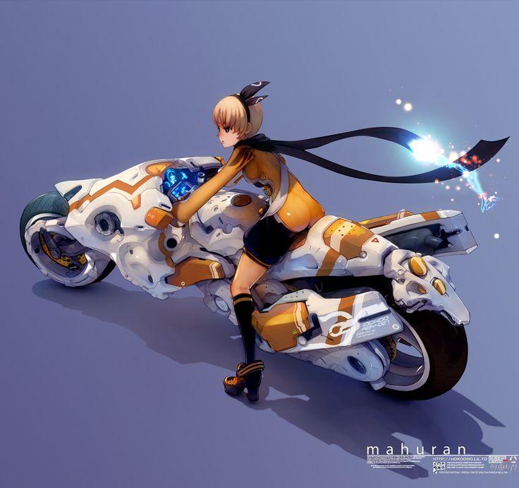 マフランの可変式バイク by hoppang | Mechaspace | Pinterest