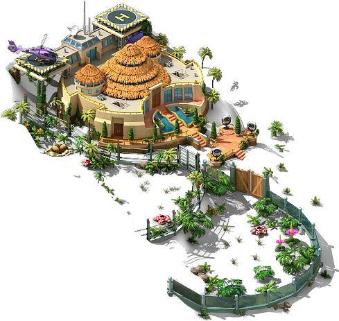 jurassic park visitor center Isla Nublar - Megapolis Wiki