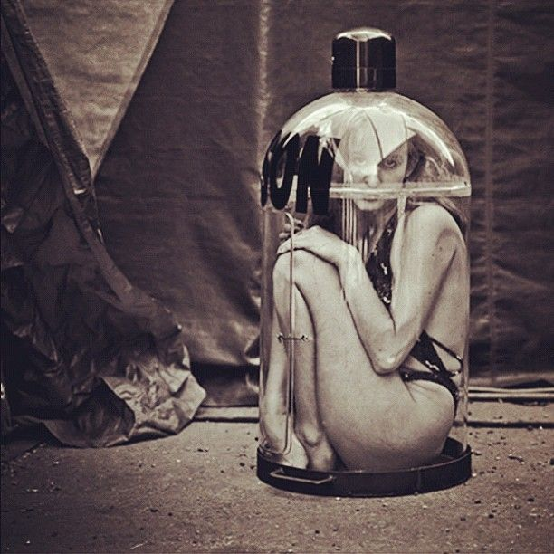 Andrew Shaylor - From the Portraits of Circus Performers series. S)