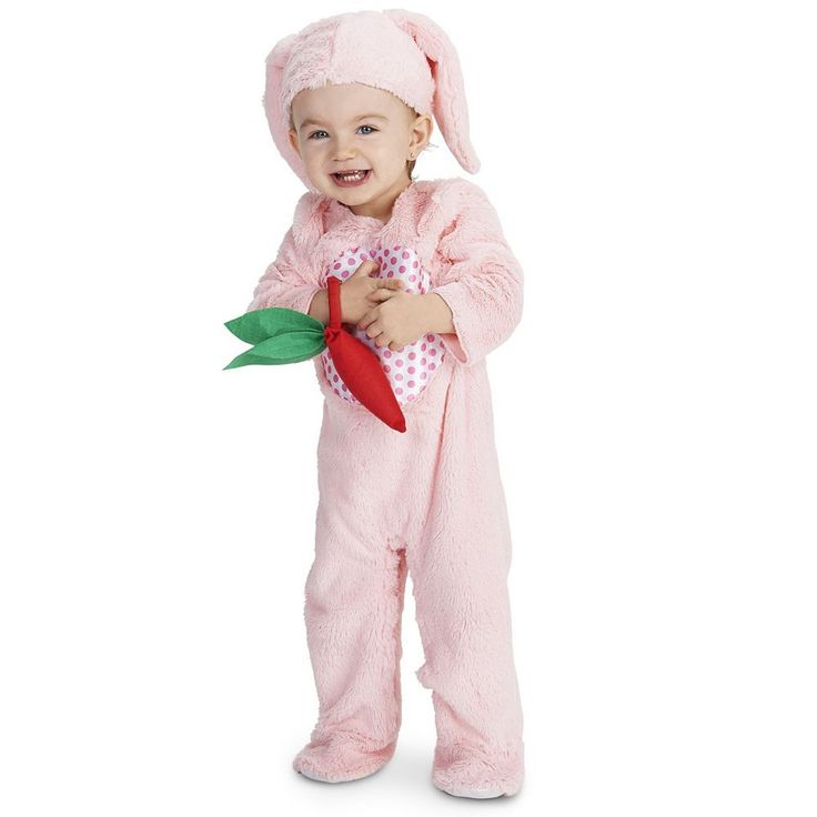Baby Little Pink Bunny Costume, Infant Girl's, Size: 6-12MONTHS