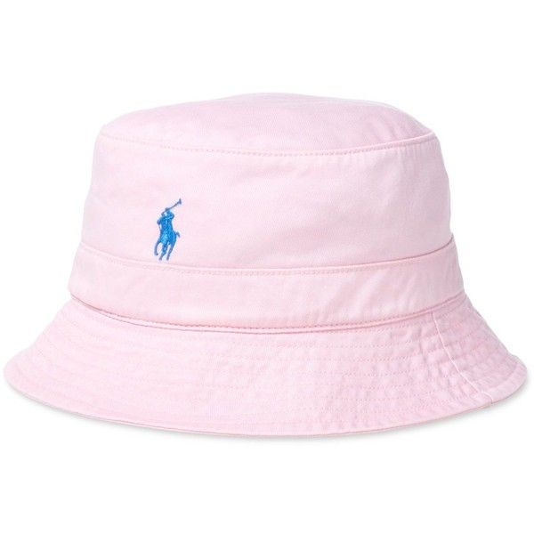 4439c3021f7169 Polo Ralph Lauren Men's Chino Bucket Hat ($40) ❤ liked on Polyvore  featuring men's