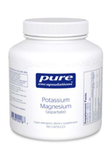 Pure-Encapsulations-Potassium-Magnesium-aspartate-180vcaps-PM1-Exp-2-18-SD