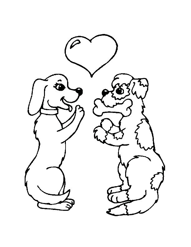 coloring pages of dogs dog coloring pages 5