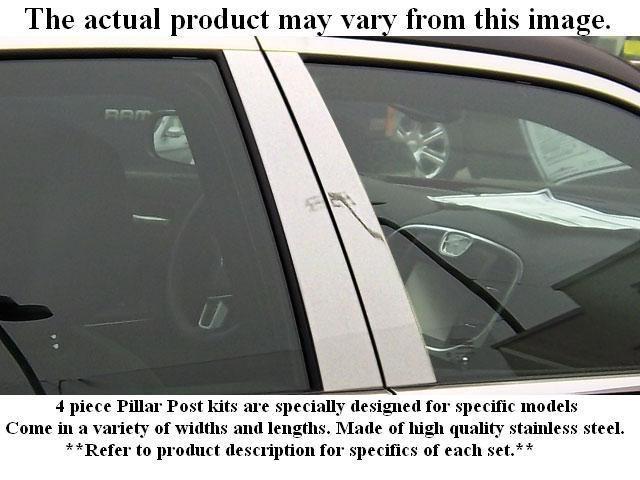 IMPALA 2000-2005 CHEVROLET (4 Pc: Stainless Steel Pillar Post Trim Kit , 4-door) PP40135:QAA