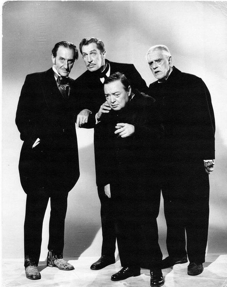 Comedy of Terrors - Basil Rathbone, Vincent Price, Peter Lorre, Boris Karloff