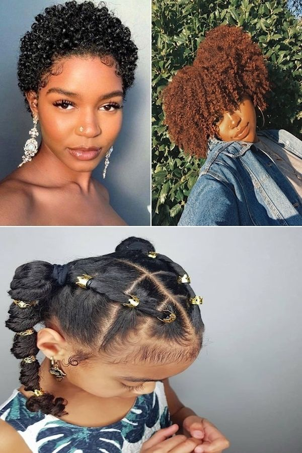 Best Natural Hair Styles Style Hair Naturally Cute Hairstyles For Black Hair In 2020 Natural Hair Styles Healthy Natural Hair Growth Natural Hair Growth