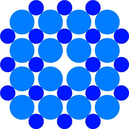 Count The Mickeys Puzzle 3 - how many Mickey Mouse faces can you place, only using each circle at most once?