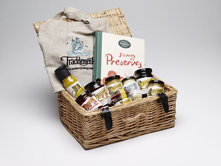 Tracklements hamper - perfect for the whole family to enjoy