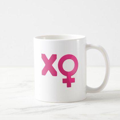 XO - Venus Symbol Pink Coffee Mug - decor gifts diy home & living cyo giftidea
