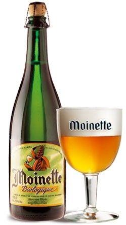 Cerveja Moinette Biologique , estilo Saison / Farmhouse, produzida por Brasserie Dupont, Bélgica. 7.5% ABV de álcool.
