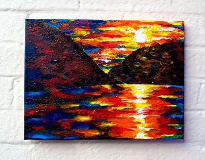 """Check out new work on my @Behance portfolio: """"Zambezi Sun Rise"""" http://be.net/gallery/57050059/Zambezi-Sun-Rise"""