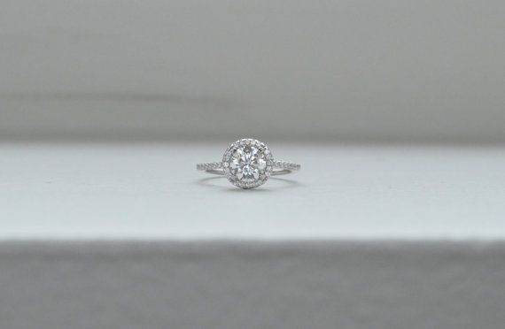 Hey, I found this really awesome Etsy listing at https://www.etsy.com/listing/159248793/thin-halo-engagement-ring-solitaire