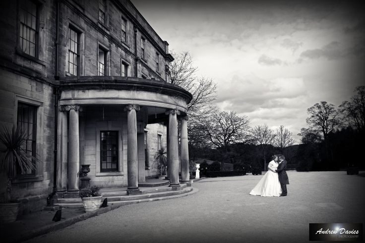 black and white shot beamish hall by www.andrew-davies.com contact us for your north east or yorkshire wedding on 07525019140