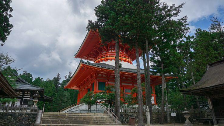 Temple at Okunoin Koyasan