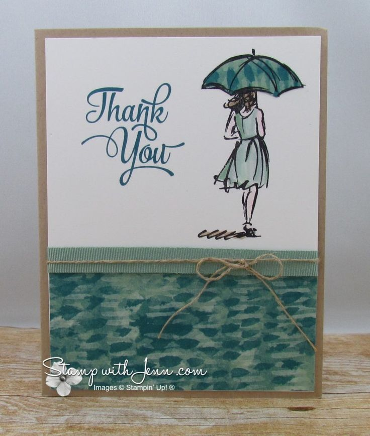 Beautiful You stamp set with Paper Piecing technique.