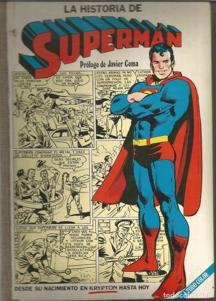 LA HISTORIA DE SUPERMÁN Editorial Novaro